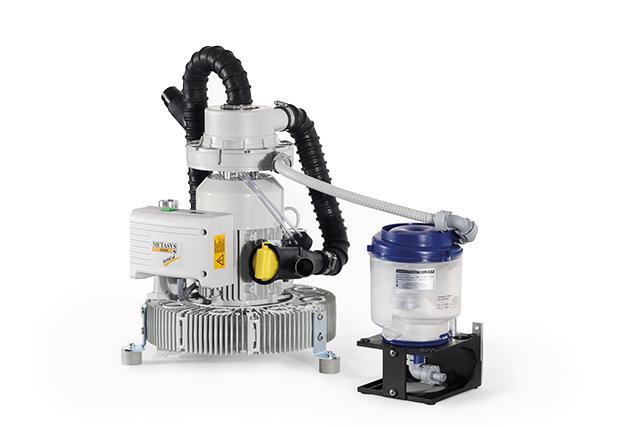 Kompressor und Absaugtechnik